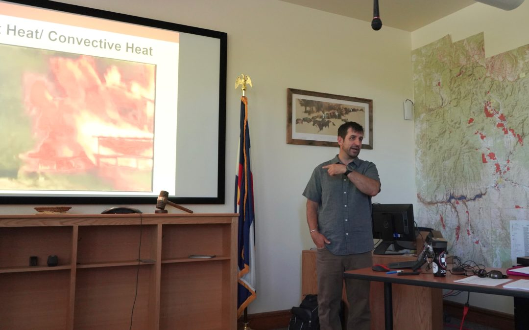Gunnison County Hosts Wildfire Meeting