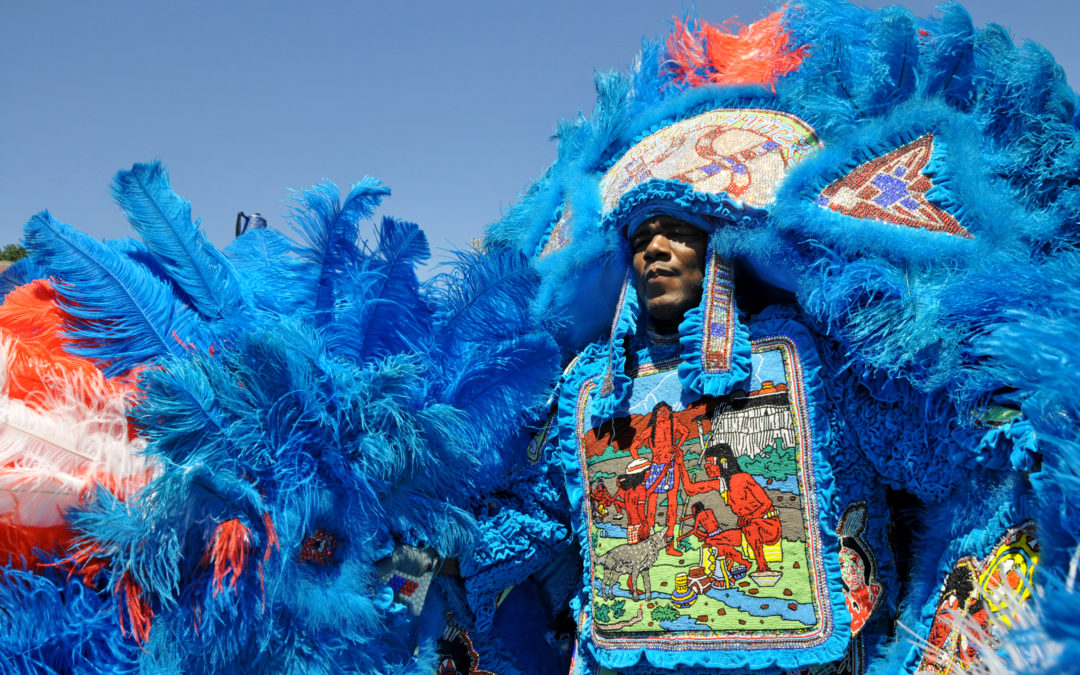 KBUT Fish Fry Welcomes Mardi Gras Indians to This Year's Event