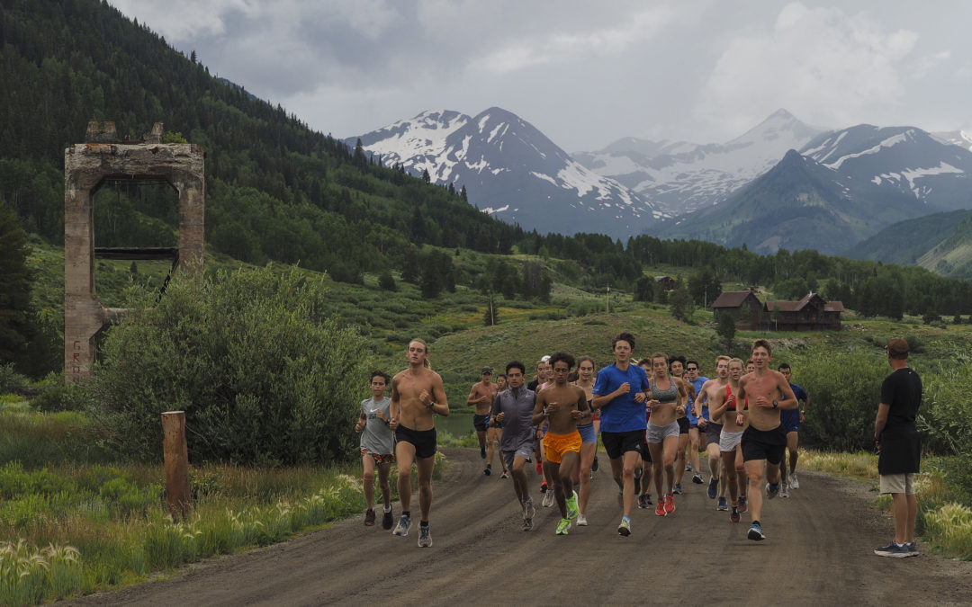 The fastest kids in America are running hills and chilling in creeks around Crested Butte