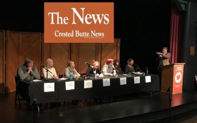 Listen to the 2019 Crested Butte Candidates Forum.