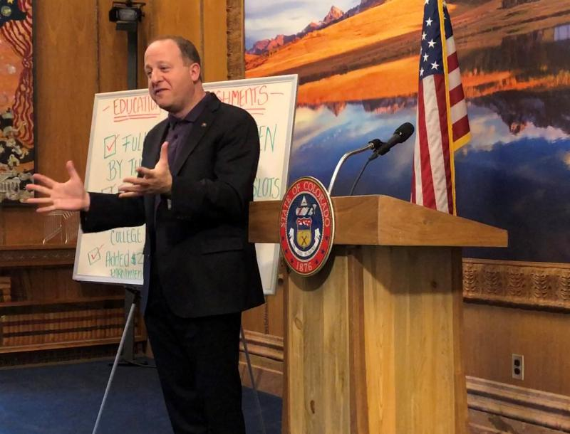 As State Lawmakers Return To Work, Gov. Polis Weighs In On Looming Debates