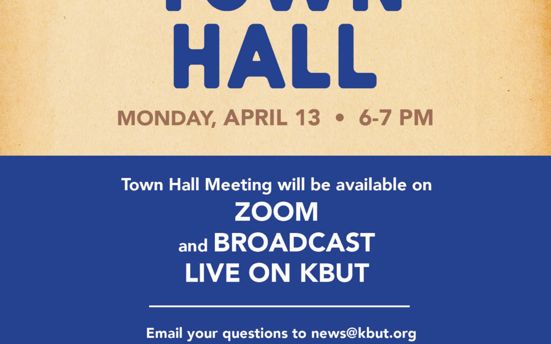 KBUT Co-Hosts Virtual Town Hall with Gunnison County and News Agencies