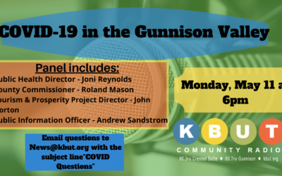 COVID-19 in the Gunnison Valley: Monday, May 11