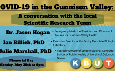 Live Panel Discussion with the Gunnison County Investigative Science Team