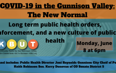 COVID-19 in the Gunnison Valley: The New Normal