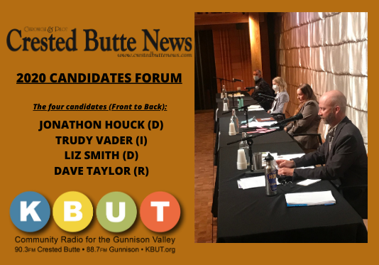 2020 Crested Butte News Candidates Forum