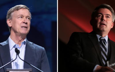 Hickenlooper, Gardner Present Opposing Views In Colorado's Final U.S. Senate Debate