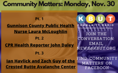 Community Matters For Monday Nov. 30