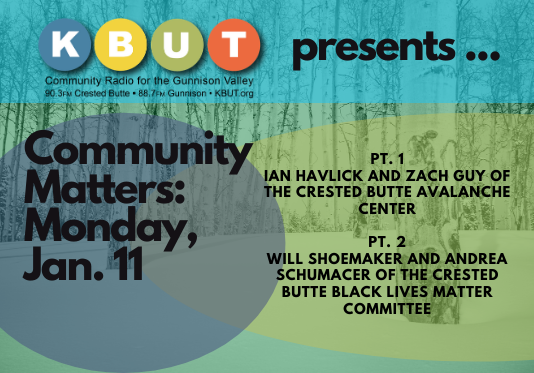 Community Matters for Monday January 11.