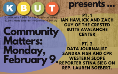 Community Matters for Monday, February 9