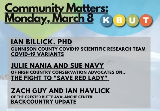 Community Matters: March 8, 2021