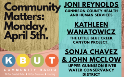 Community Matters: April 6th, 2021