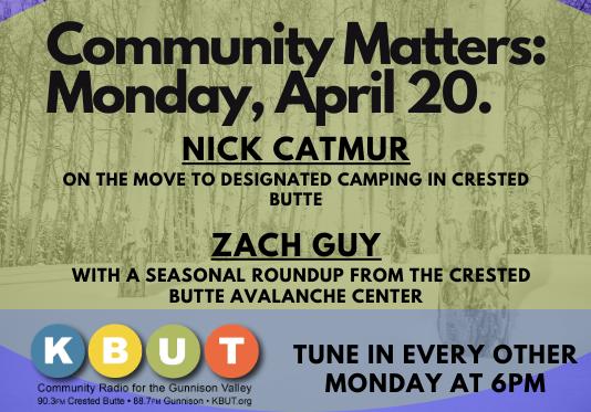 Community Matters: April 19th, 2021