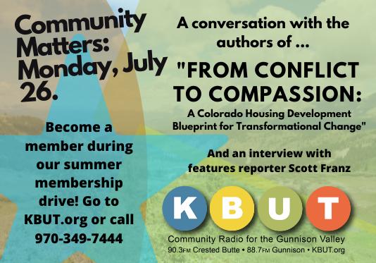 Community Matters: Monday, July 26